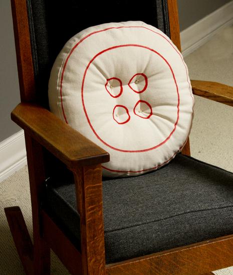 How To Make a Button Pillow