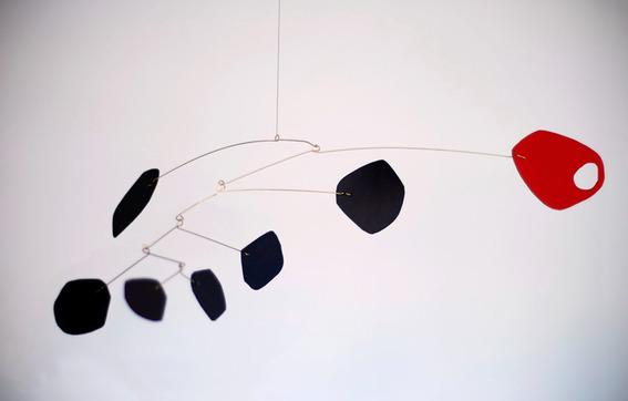 DIY Calder mobile sculpture project