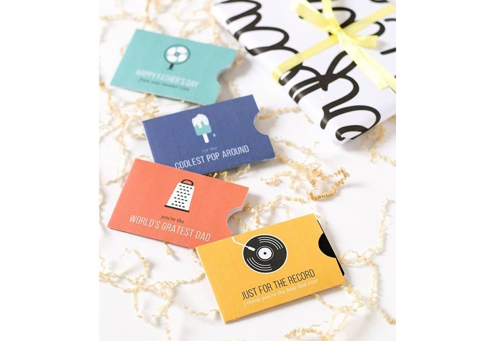 PrintableDIY Gift Card Holder