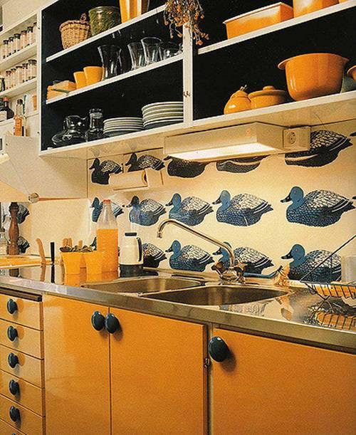swedish 19970s kitchen