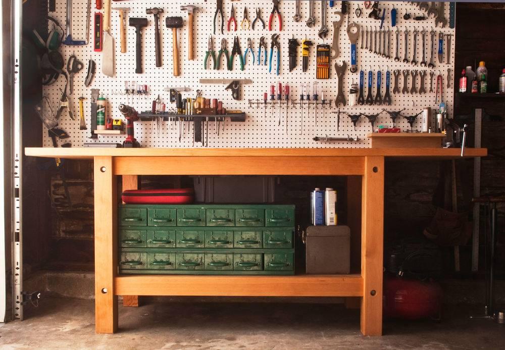 the ultimate garage workbench