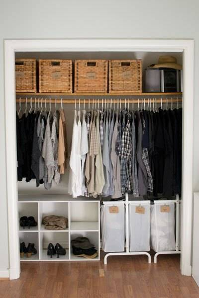 Seriously Useful Apartment-Friendly Closet Organization ...