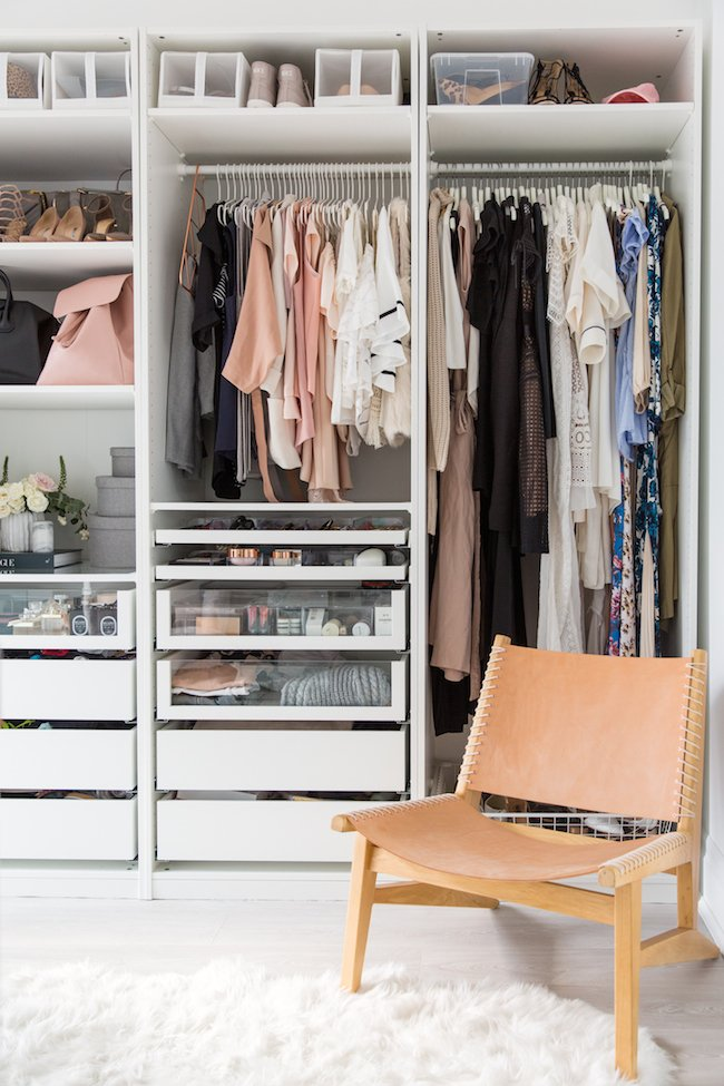 IKEA custom closet solution