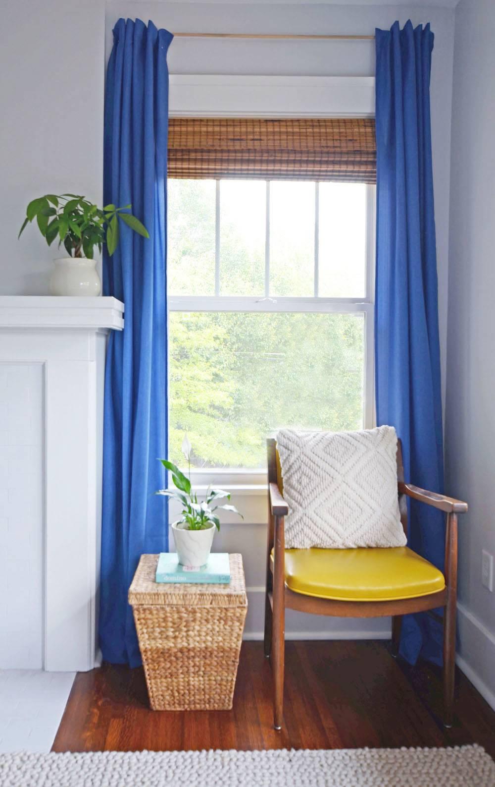 Simple Renter Friendly Window Treatment